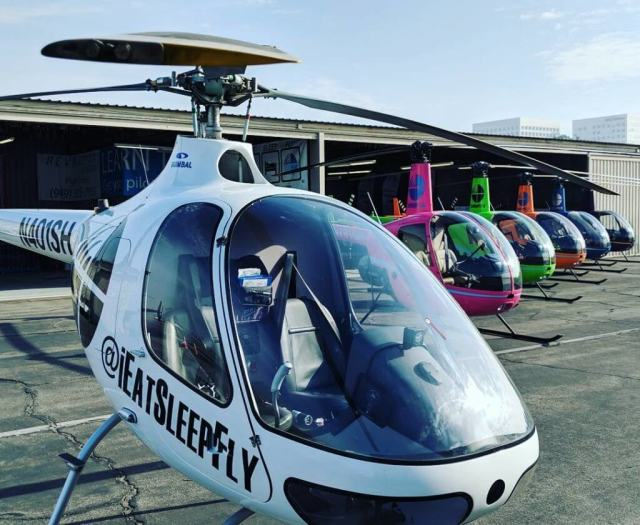 The Long Beach Airport location will allow Revolution the space to include airside access for several helicopters for one-on-one and classroom flight training. Revolution Aviation Photo