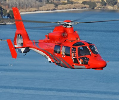 The second contract was signed with a new customer the Hokkaido Government, which placed an order for one AS365 N3+ helicopter from the Dauphin family. Anthony Pecchi Photo