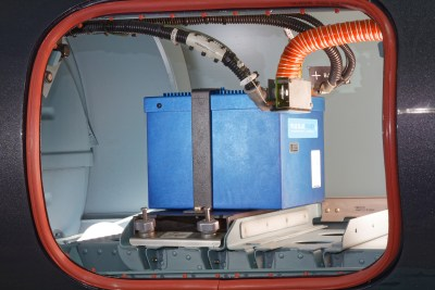Key features of the Advanced Lithium-Ion Battery include ultra lightweight, less maintenance and overall reduced operating costs over the battery's lifecycle. EuroTec Photo