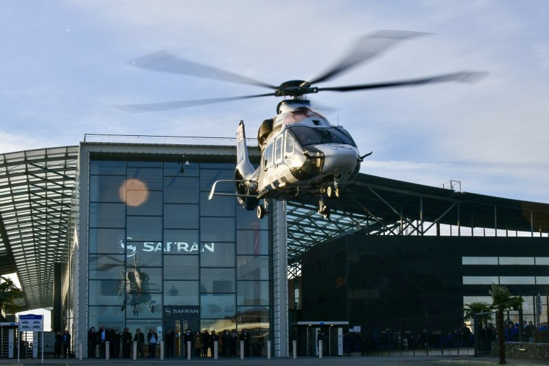 Safran's Arrano, slated for certification this year, powers the Airbus H160. Remy Bertrand Photo