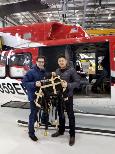 System7 Aerospace cofounders Chanthyvong and Crowe enable the company to provide its customers with industry-leading products while maintaining stringent safety standards and certification. System7 Photo