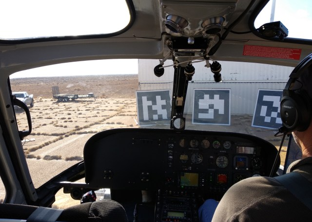 Honeywell flight testing cockpit