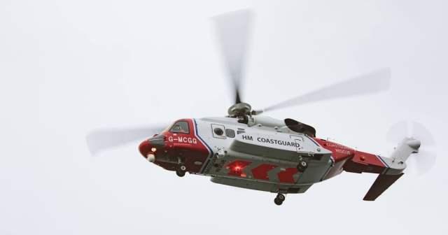 Bristow UKSAR helicopter