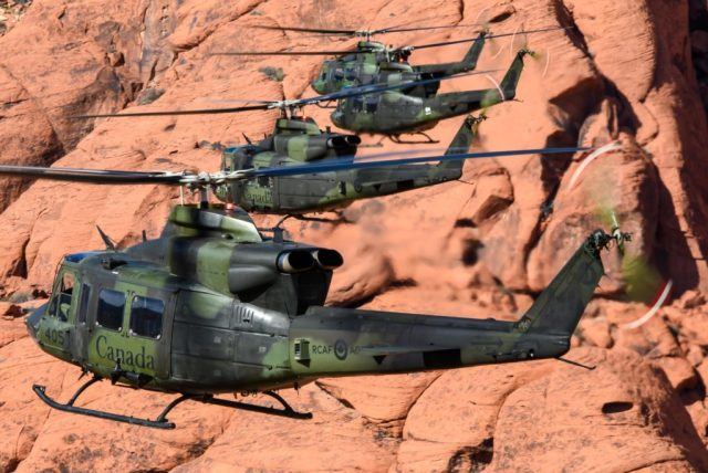 CH-146 Griffon helicopters