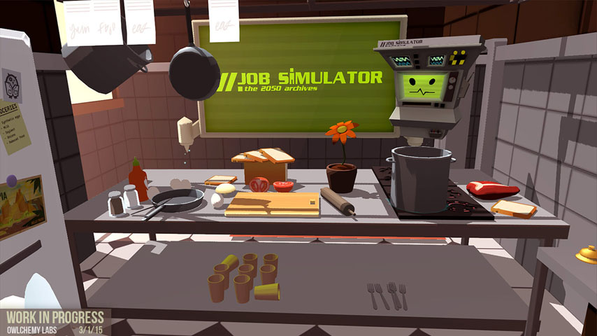kitchen simulator sink plumbing first steamvr game reveal is job vg247