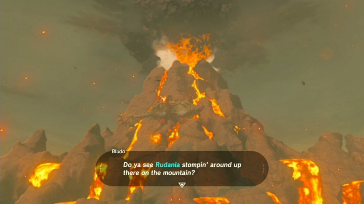 Image result for breath of the wild volcano