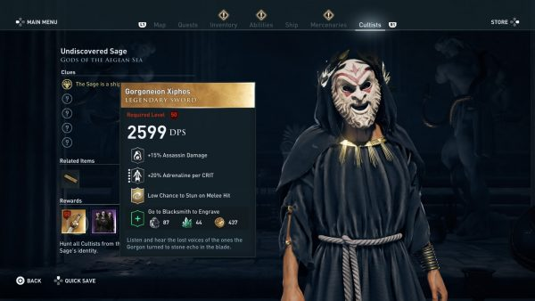 Assassin's Creed Odyssey guide - tips, hints and walkthroughs 4