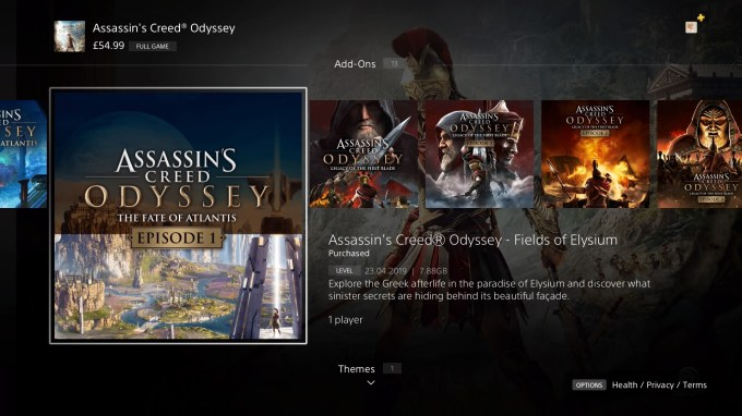 How To Start The Fate Of Atlantis Assassin S Creed Odyssey Dlc Fields Of Elysium Torment Of Hades Judgement Of Atlantis Vg247