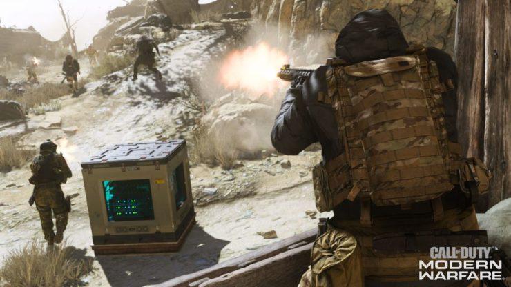 En defensa de los pasos ridículamente ruidosos de Modern Warfare 2