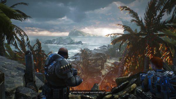 Gears 5 Hivebusters graphics showcase screenshot