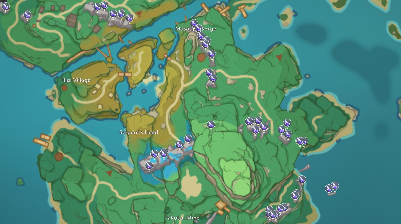 Looking for the genshin impact electroculus locations in inazuma? Genshin Impact Crystal Marrow Locations And How To Farm Crystal Marrow Vg247