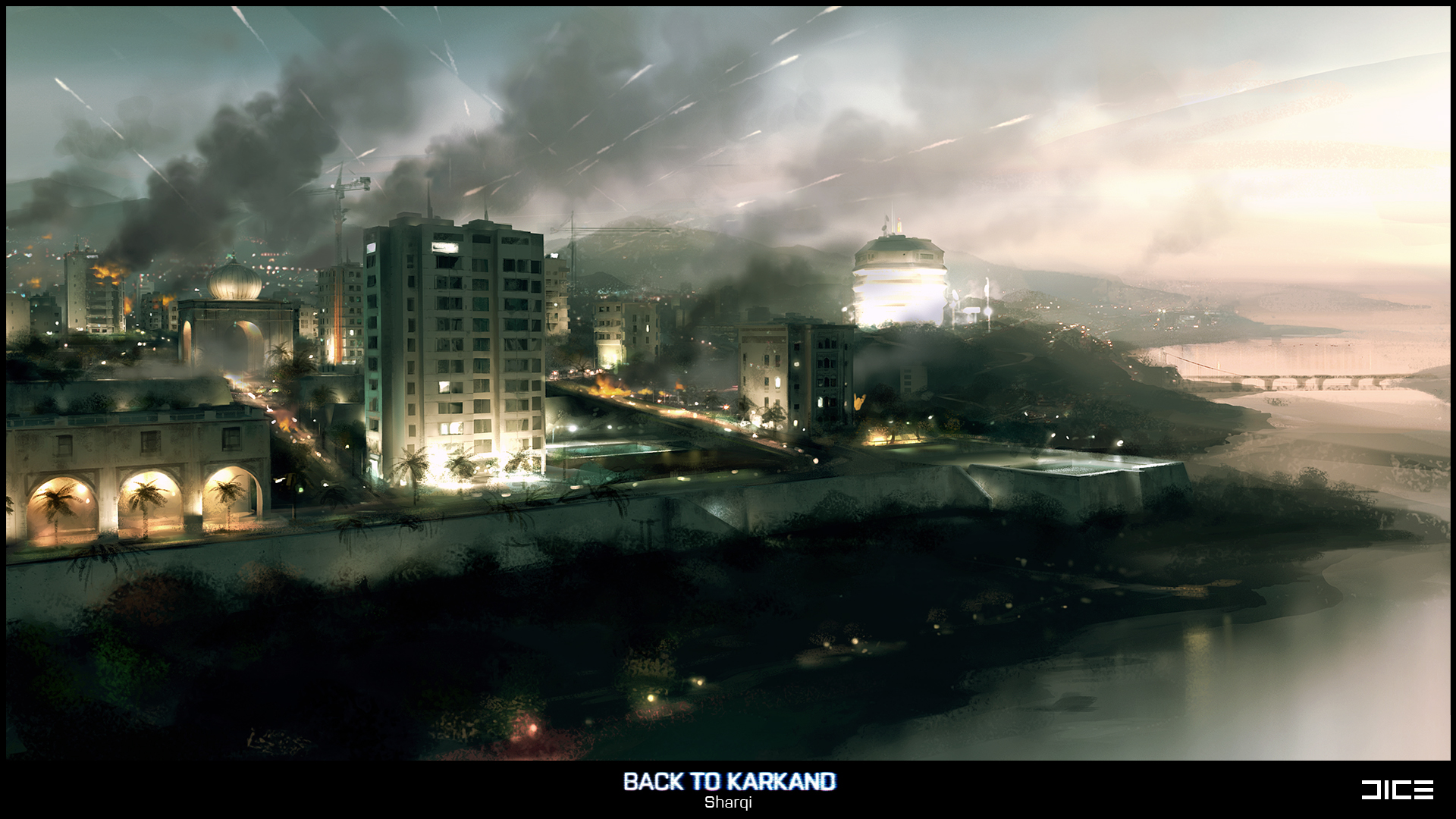 Nintnedo Fall Wallpapers Battlefield 3 Concept Art Released For Gulf Of Oman And