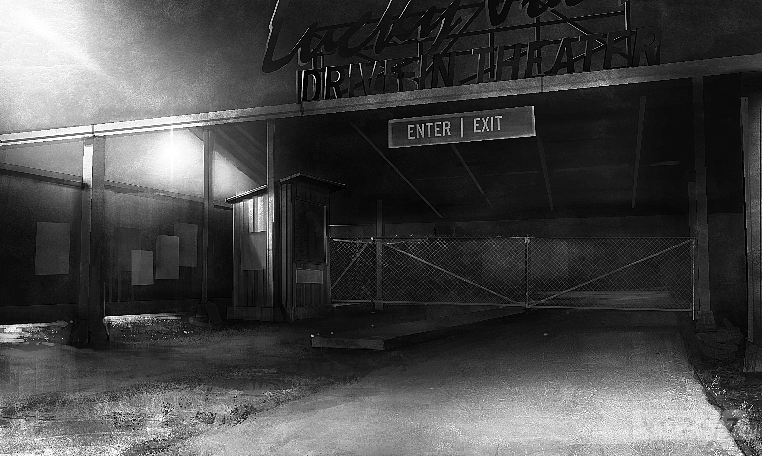 Never Before Seen Concept Art From Alan Wake American