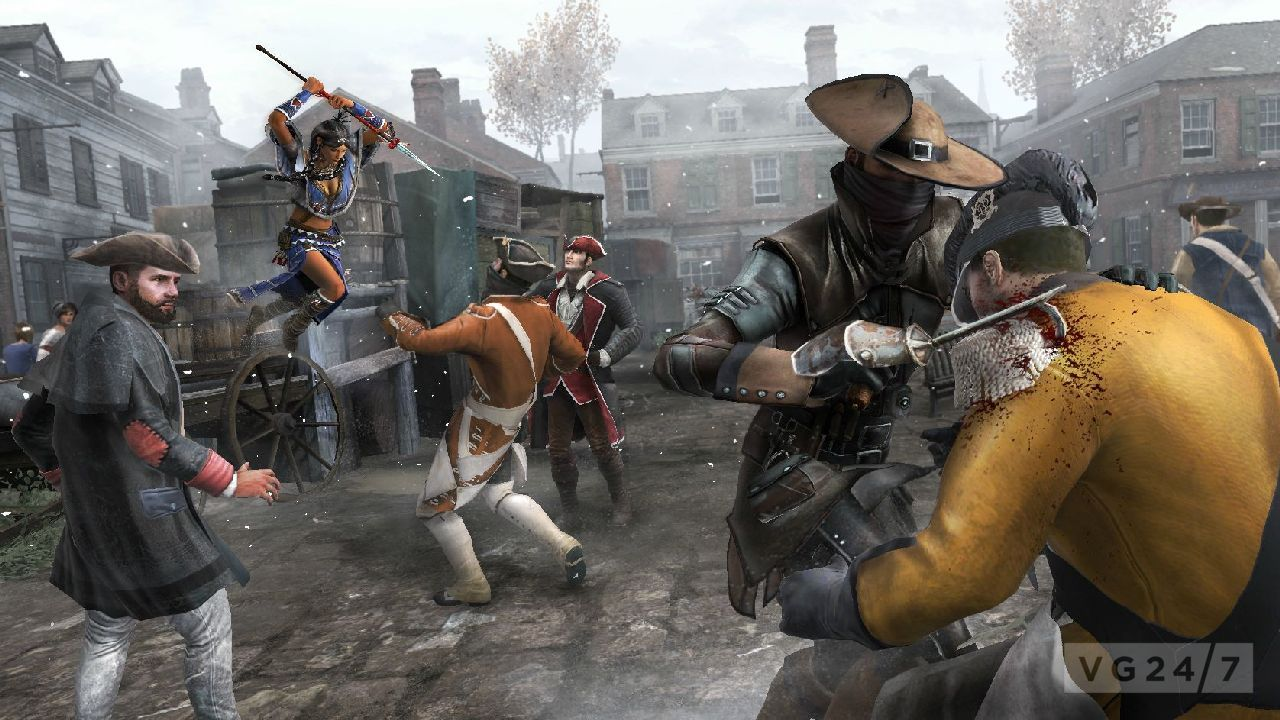 Assassins Creed III Screens Show Wolf Pack Multiplayer