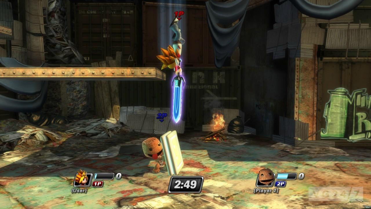 PS All Stars Battle Royale Sackboy Kicks Dantes Ass In New Screens VG247