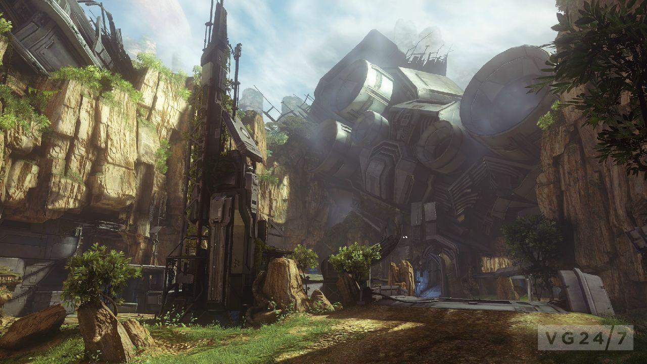 Halo 4 Exile Map Screens And Competitive Multiplayer