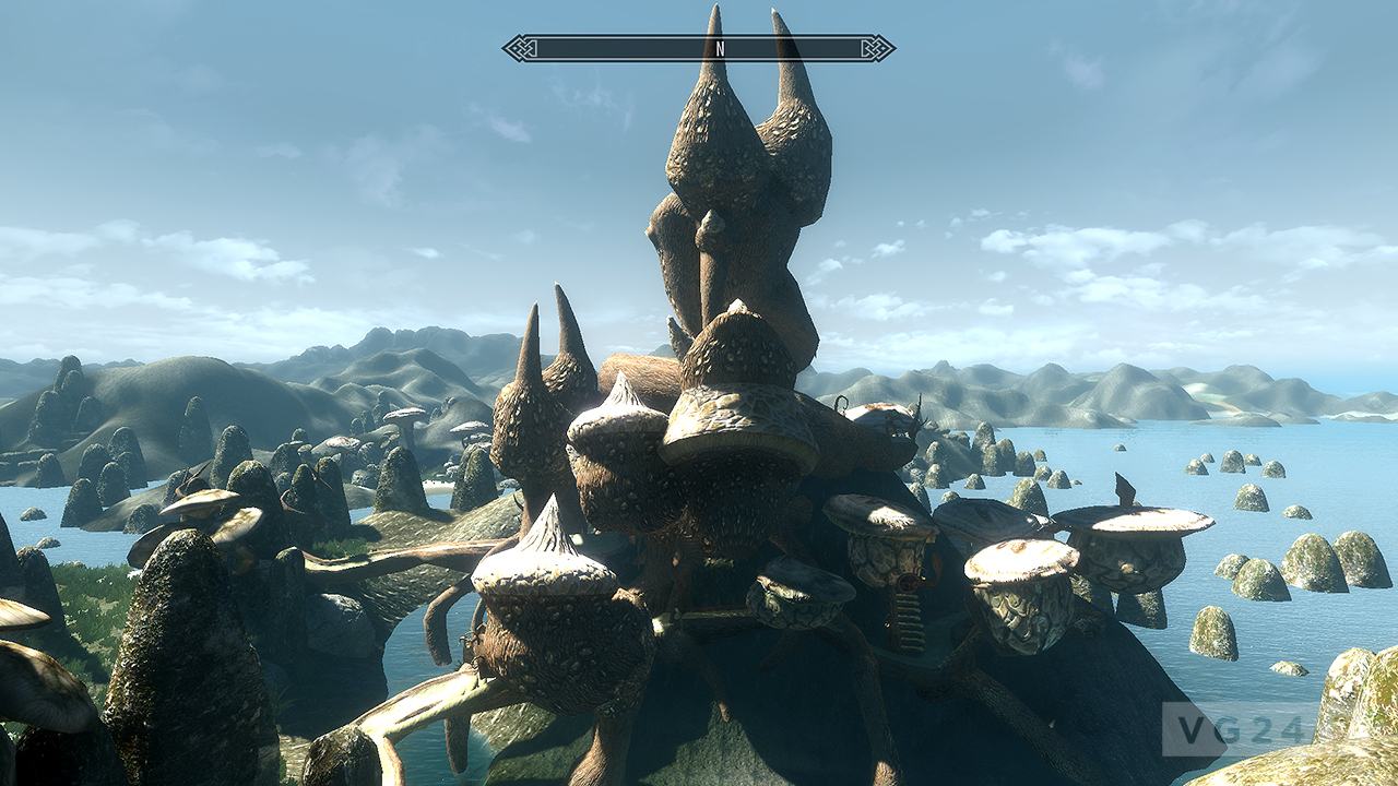 Skywind Project Is A Morrowind Port Using The Skyrim