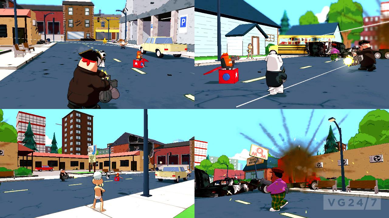 Family Guy: Back to the Multiverse release set for November - VG247