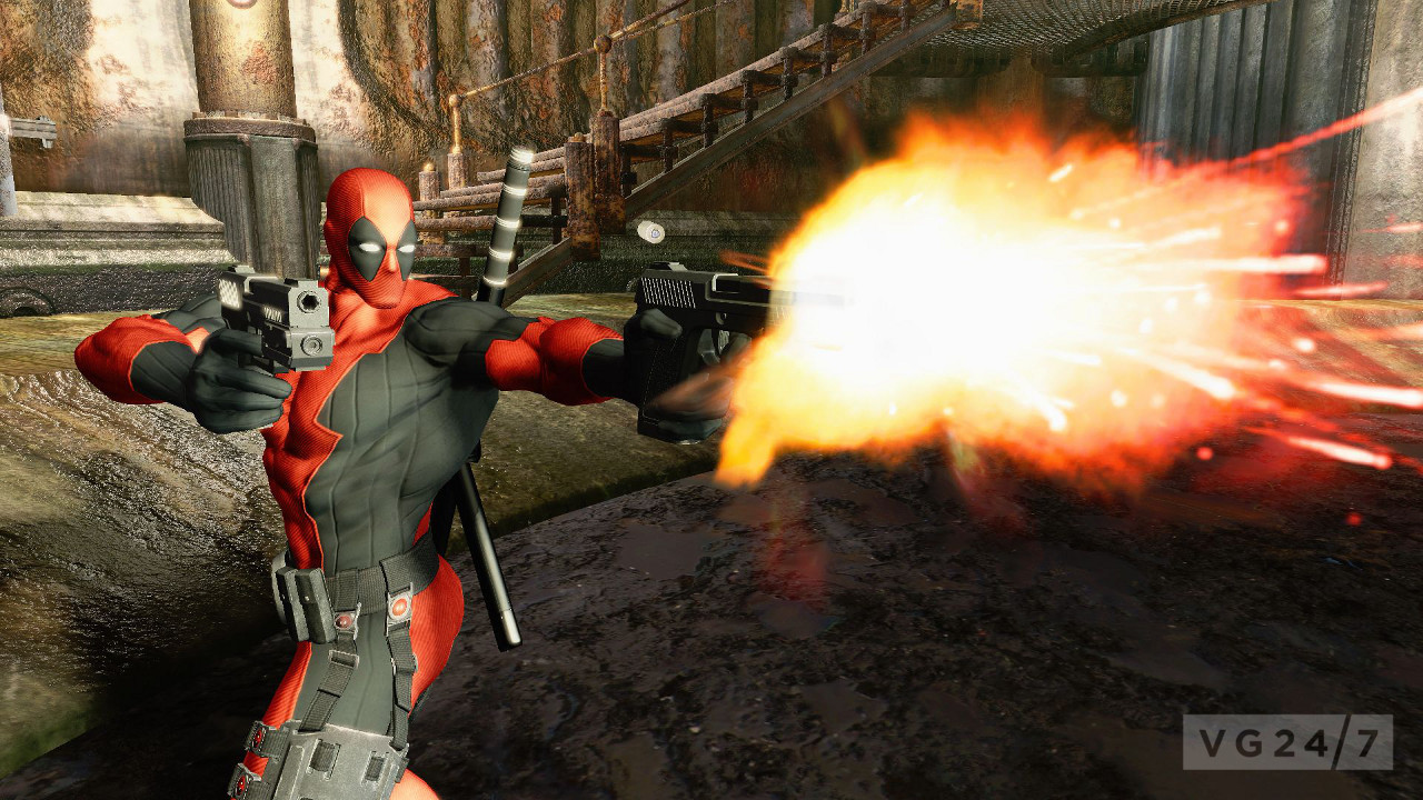 Deadpool Gory New Screens Show A Pissed Off Cable VG247