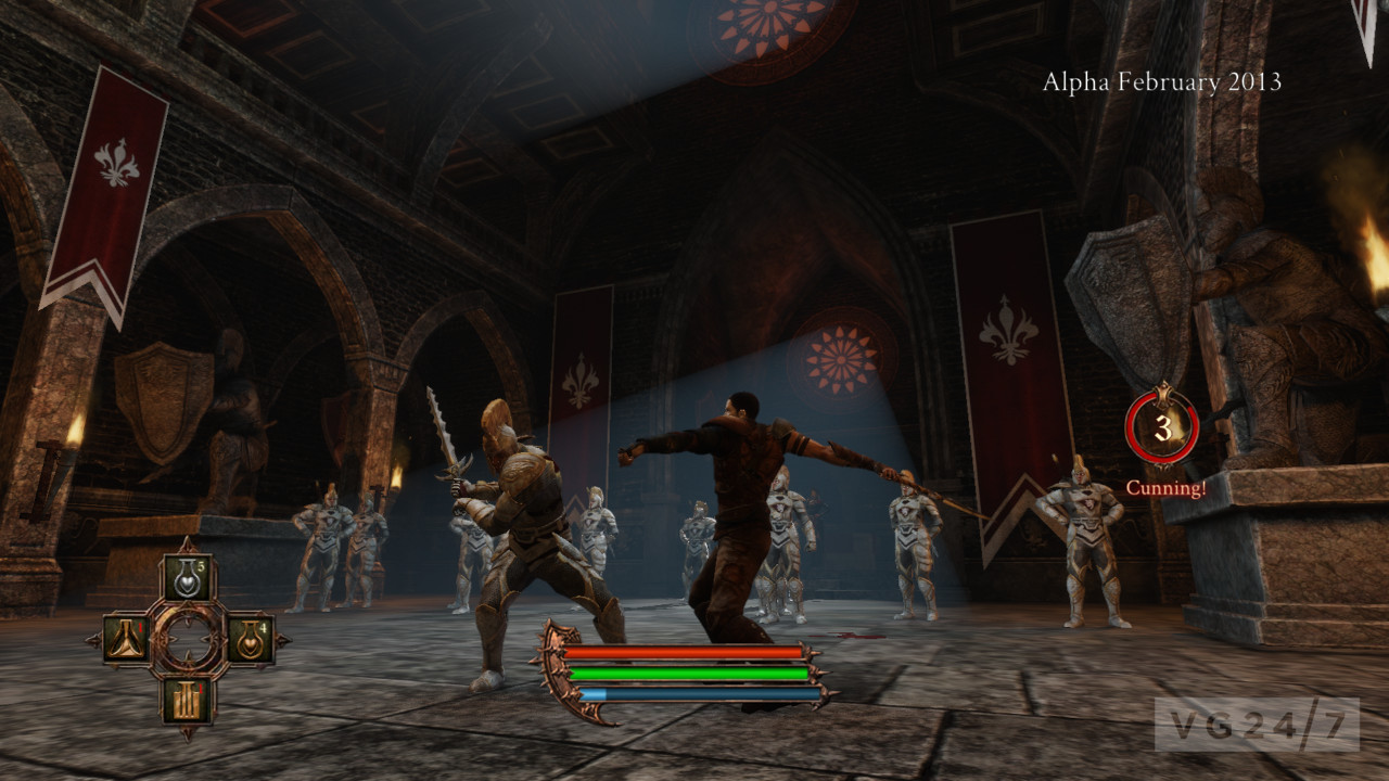 The Dark Eye Demonicon Screens Show Fantasy RPG Action