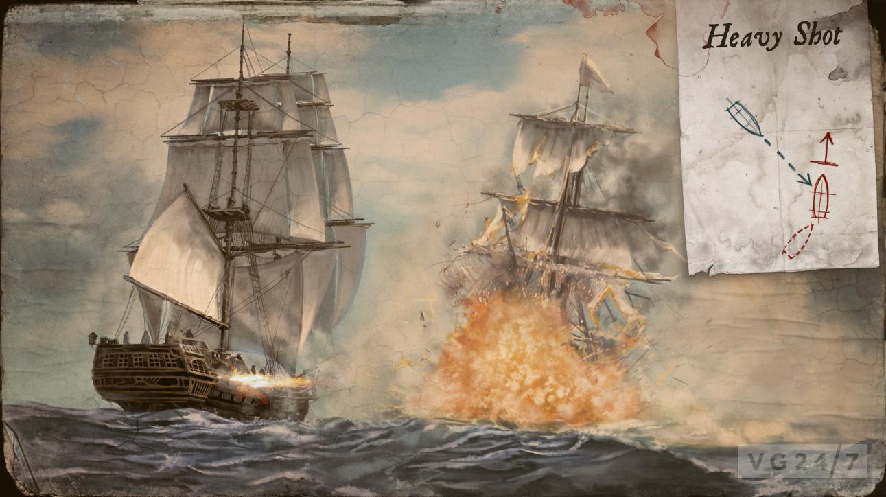 Pikmin 3 Wallpaper Hd Assassin S Creed 4 Black Flag Shots Show Shark Combat