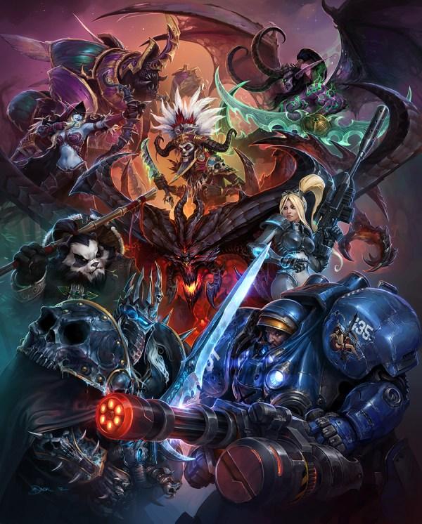 Heroes Of Storm' Artwork Released Reveals