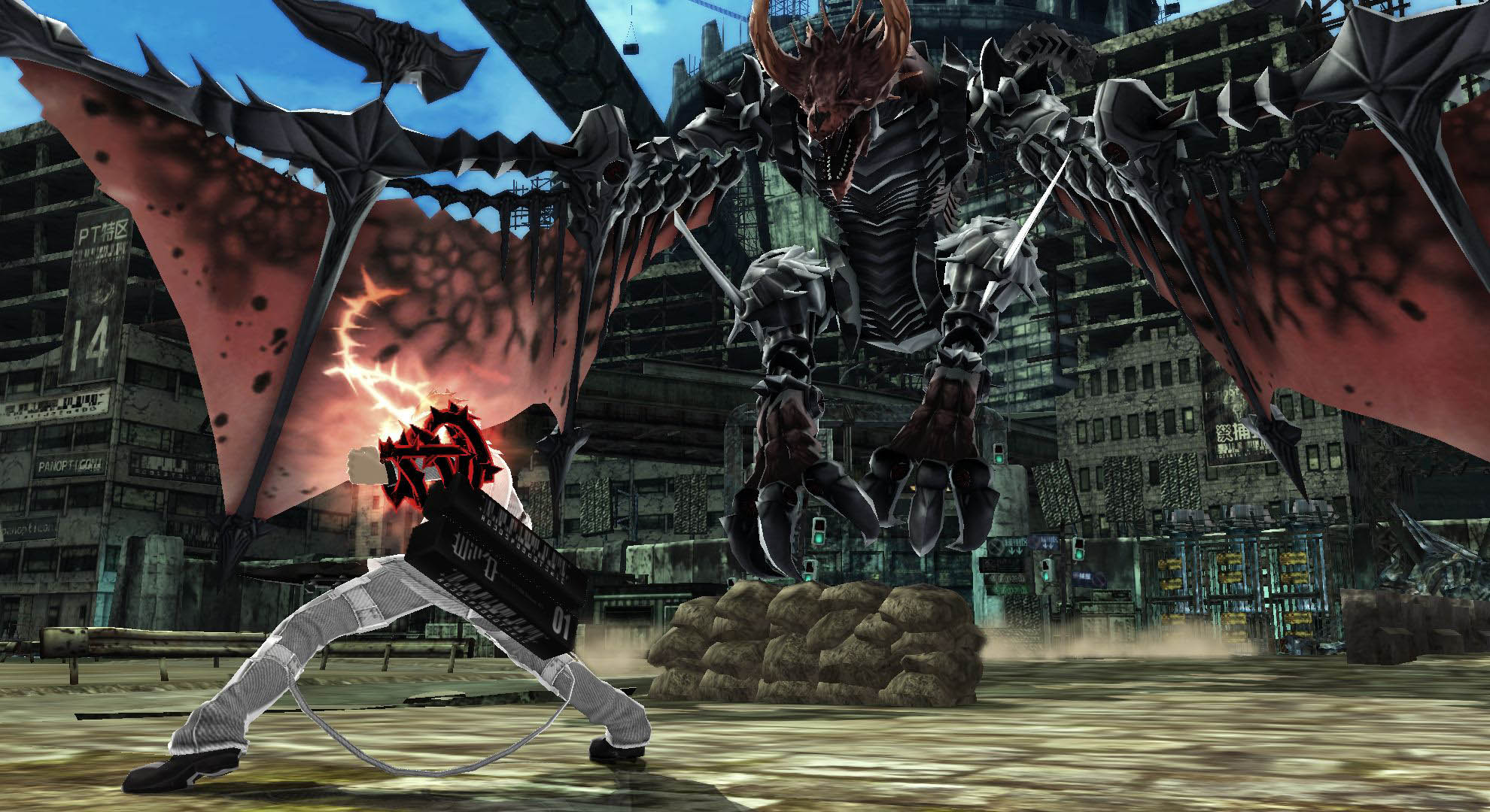 Freedom Wars First PS Vita Screens Show Characters Battles Amp More VG247
