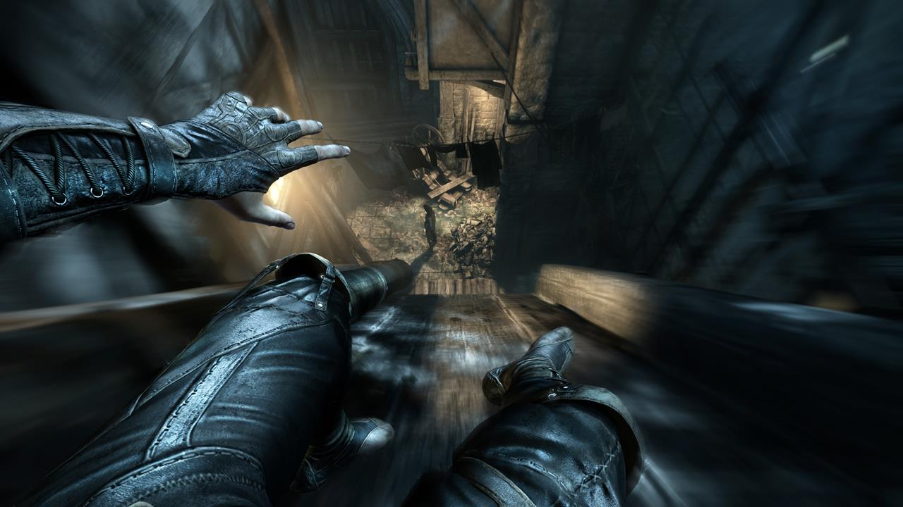 Thief New Screens Show Stealth Takedowns Characters
