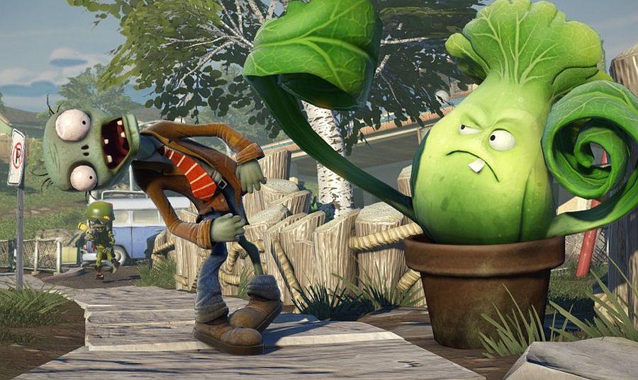 Plants Vs Zombies Garden Warfare Video Demonstrates Split