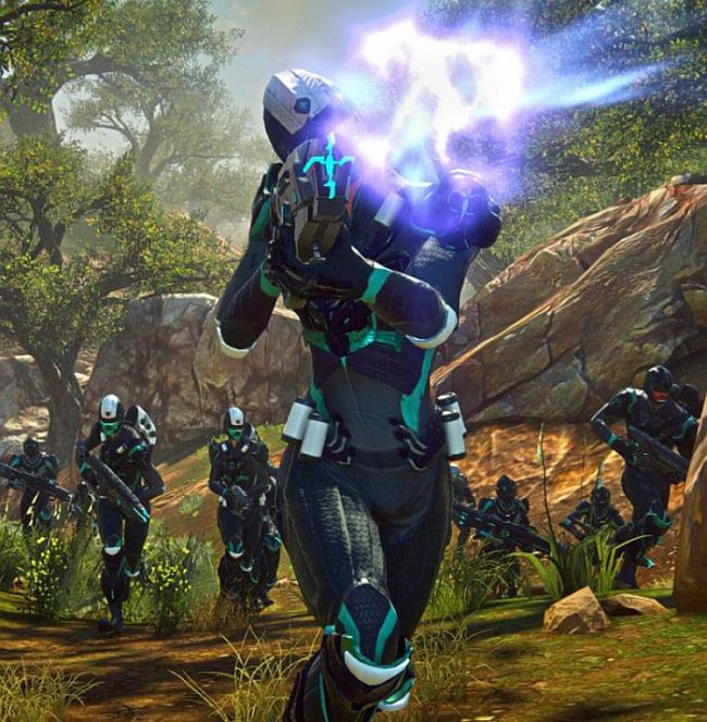 PlanetSide 2s Latest Update Lets You Shoot Space Pumpkins VG247