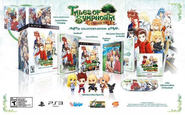 Tales Of Symphonia Chronicles Collectors Edition