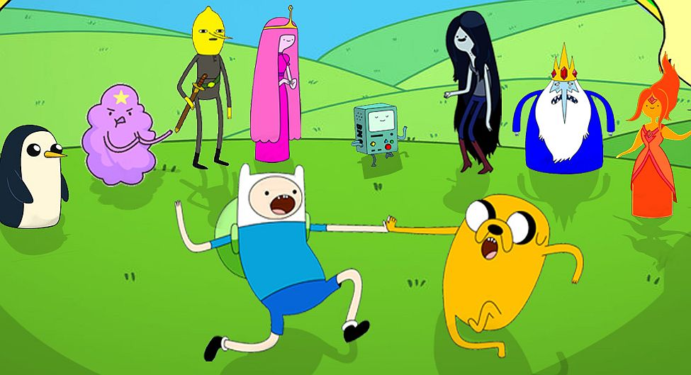 New Adventure Time Game And Title Combining Cartoon