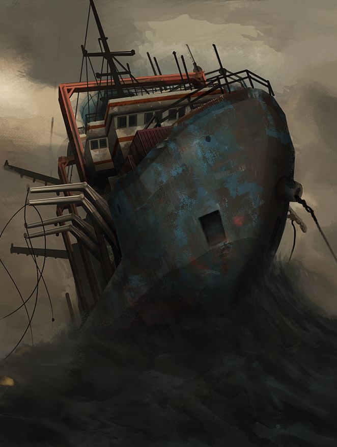 Monstrum Procedurally Generated Horror On The Lost Ship From Hell VG247