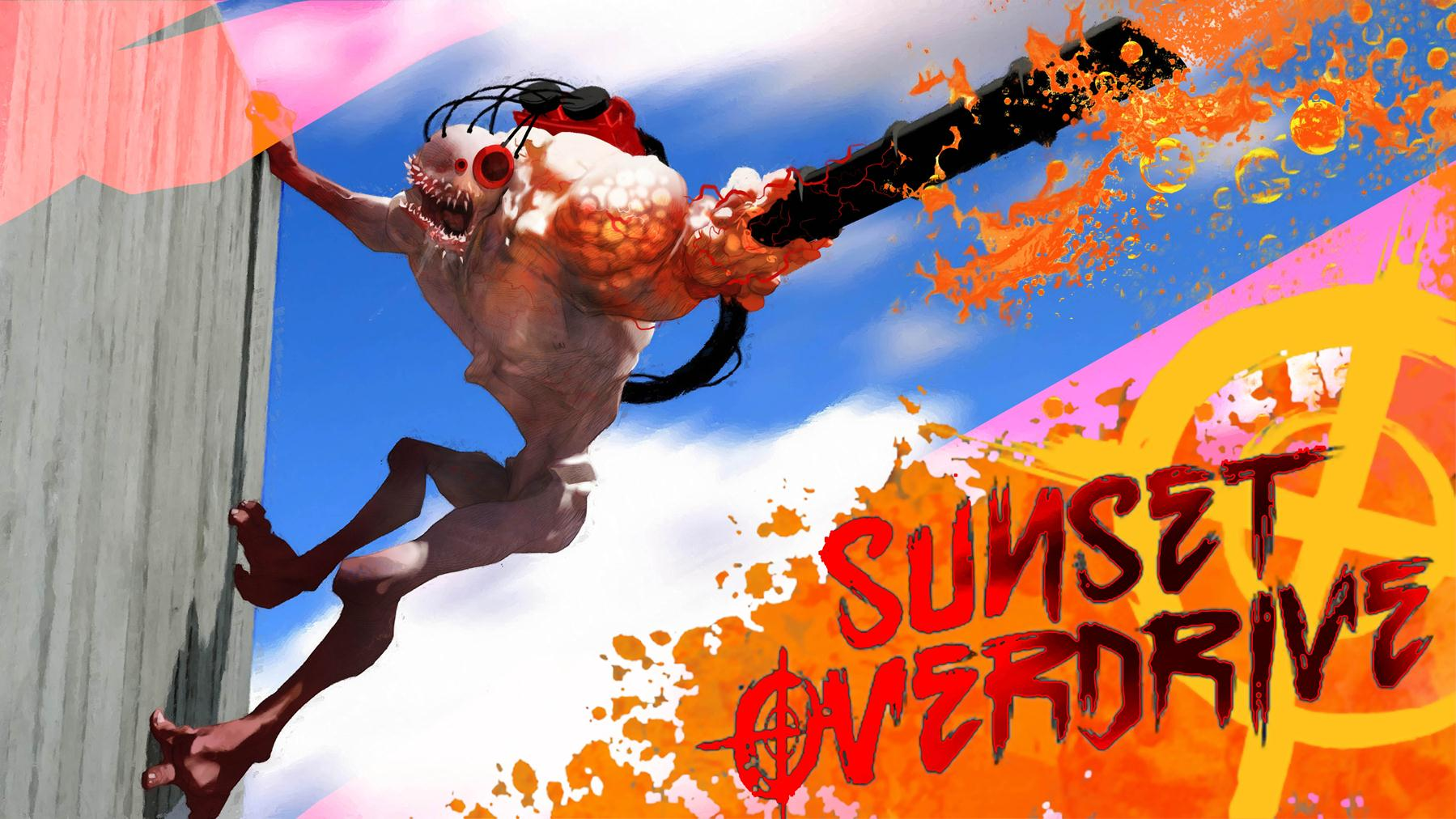 Sunset Overdrive A Brazen New IP With A Taste For Fun And