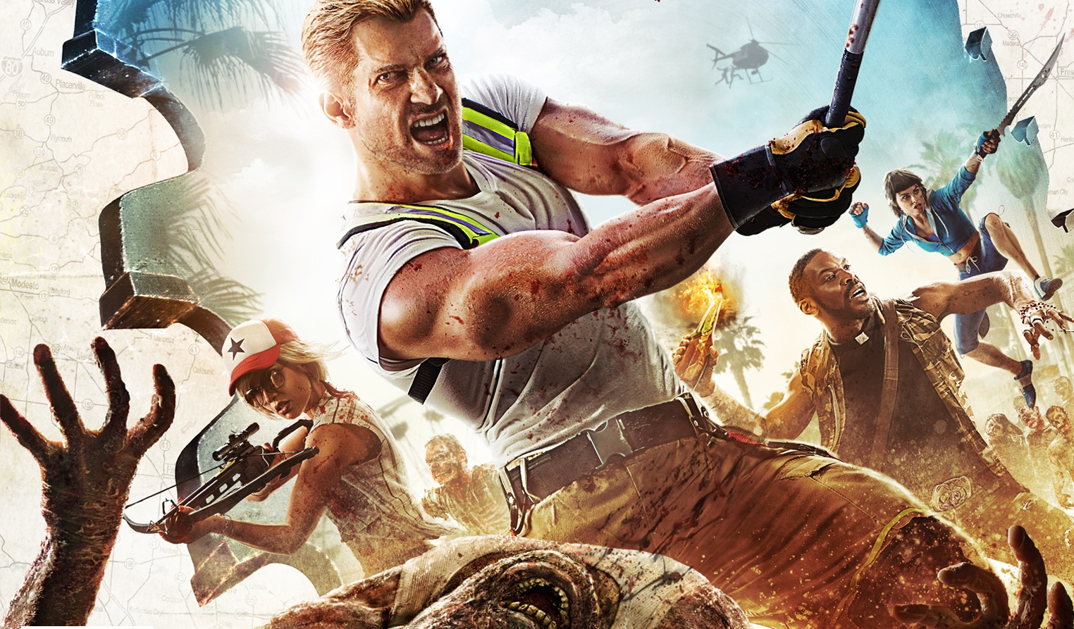 Dead Girl Wallpaper Dead Island 2 Crash A Zombie Wedding And Axe The Guests