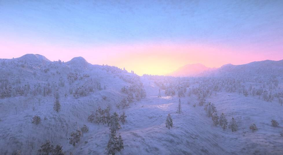 H1Z1 Looks Like A Zombie Winter Wonderland In These New