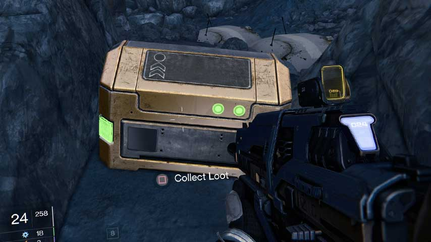 Destiny Guide Mars Gold Chest Locations VG247