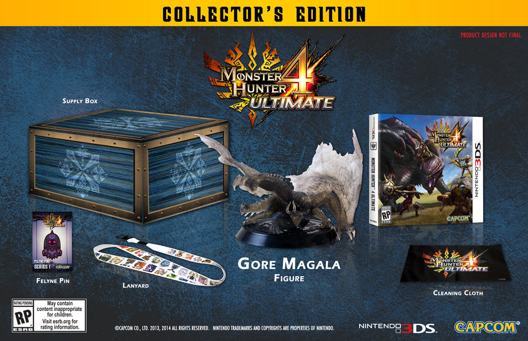 Check Out The North American Exclusive Monster Hunter 4 Ultimate Collectors Edition VG247