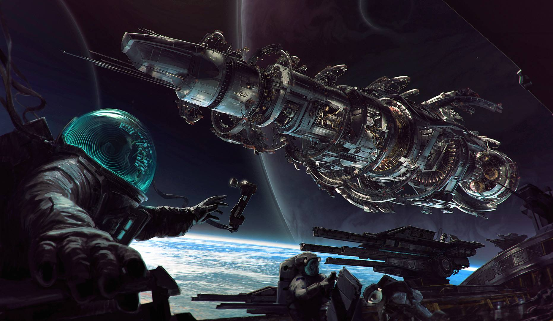 Mass Effect Animated Wallpaper Fractured Space Is The New Game From Strike Suit Zero Devs