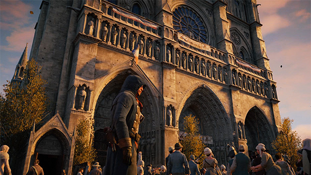 Copyright Kept Assassins Creed Unitys Notre Dame From