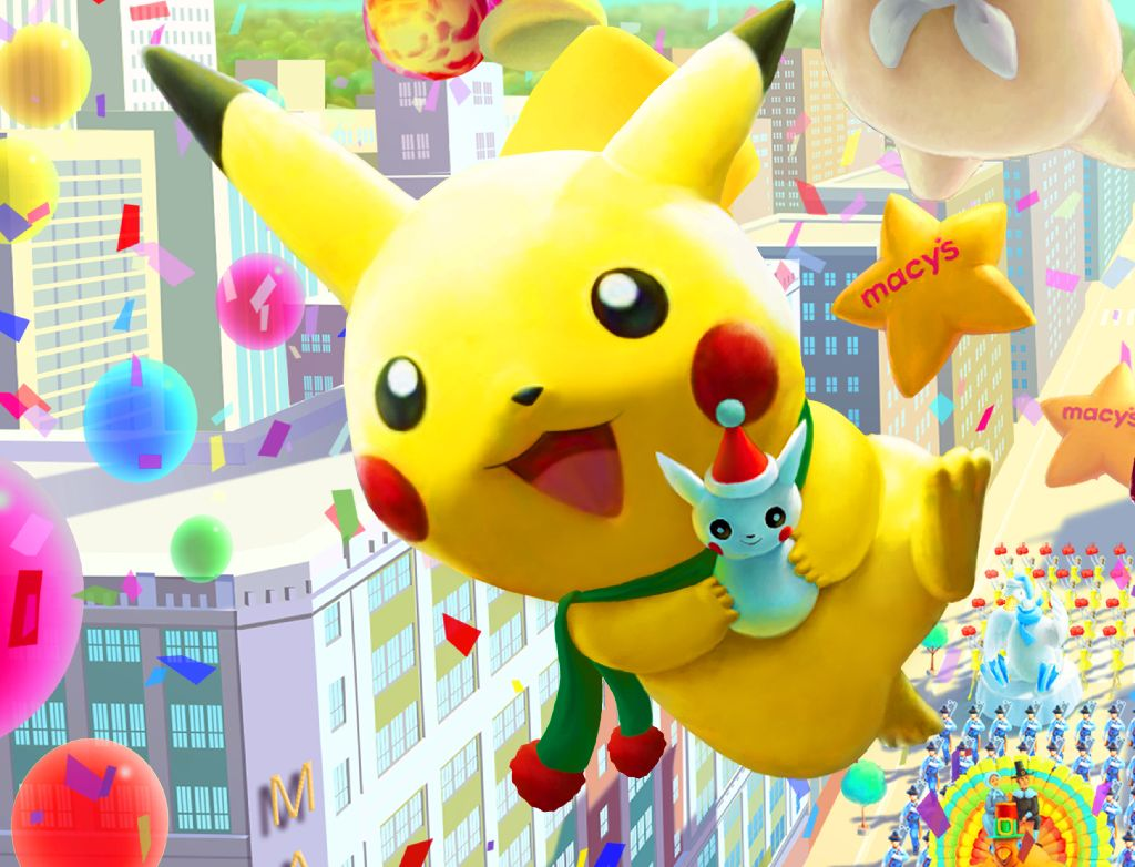 New York City Full Hd Wallpaper Pikachu Has New Look For This Year S Macy S Thanksgiving