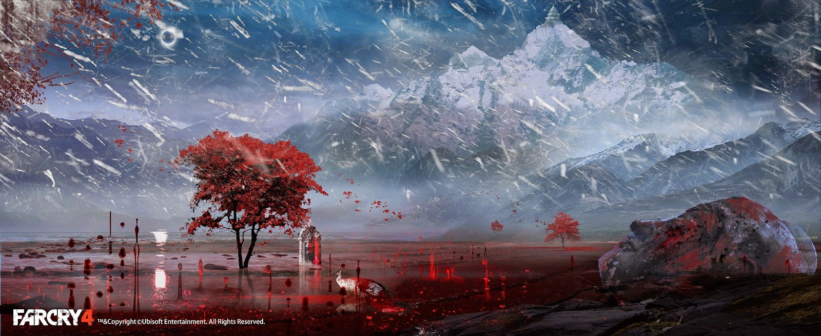 Far Cry 4 Concept Art Is The Reason Why Its A Beautiful Game VG247