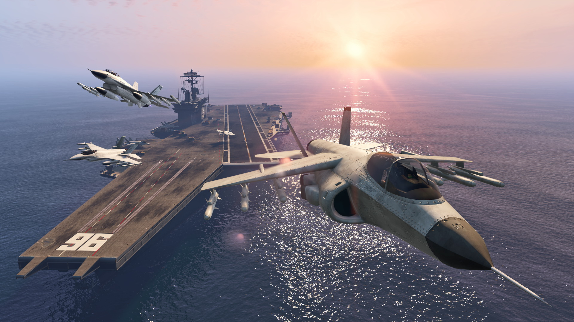 GTA 5 Online It Doesnt Look Like The Aircraft Carrier Is