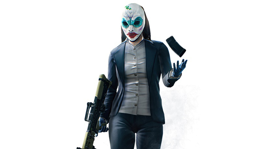 Payday 2 Diamond Heist Update Adds New Female Character VG247