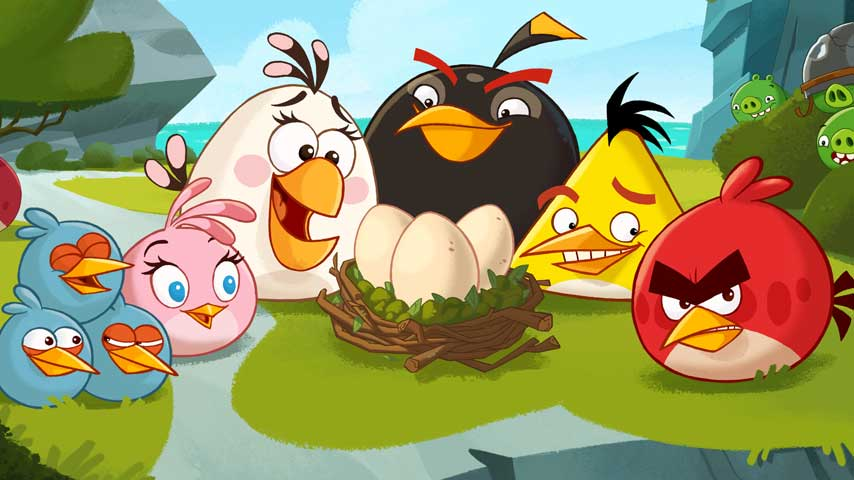 Angry Birds Dev Profits Falling Off Sharply But Not For
