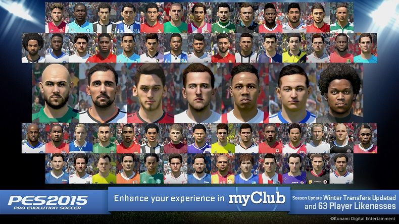 PES 2015 Data Pack 4 Coming Next Week With Winter