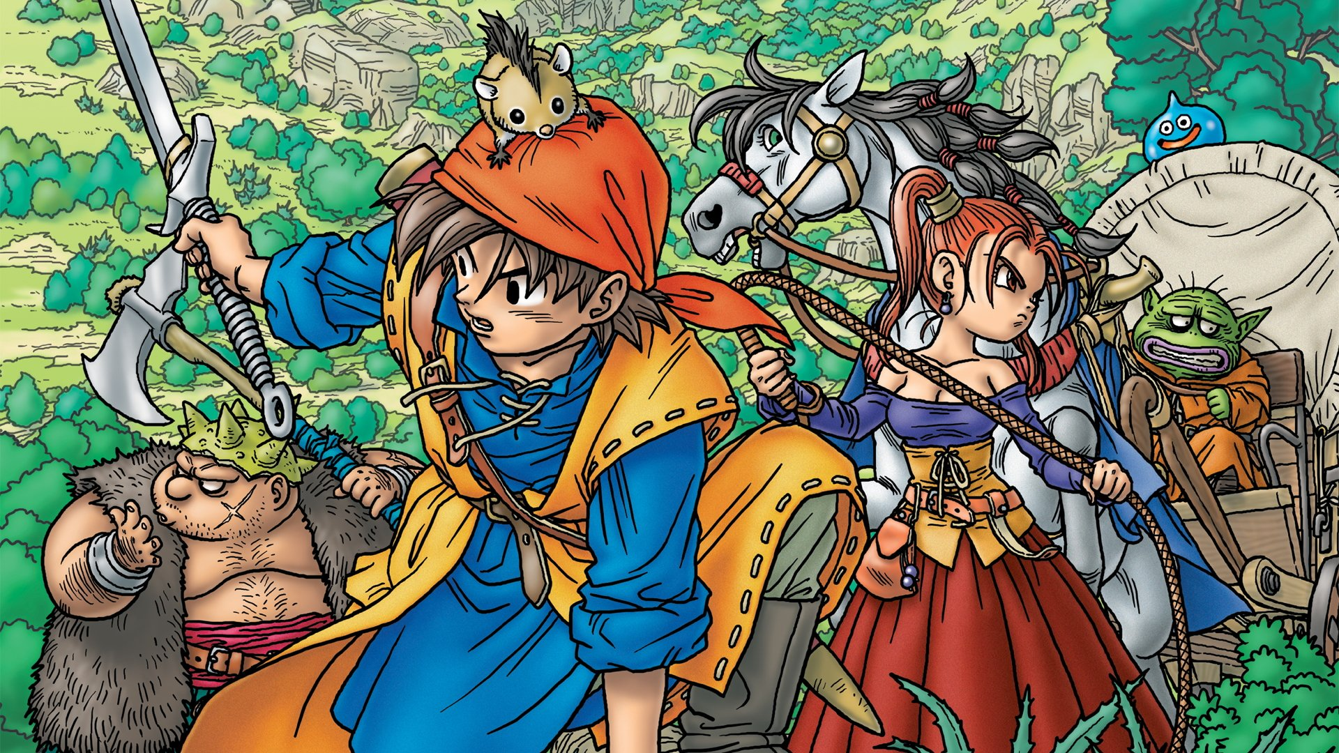 Dragon Quest 7 3ds Fliegender Teppich Dragon Quest 7 And 8 Finally Coming To 3ds In The West Vg247