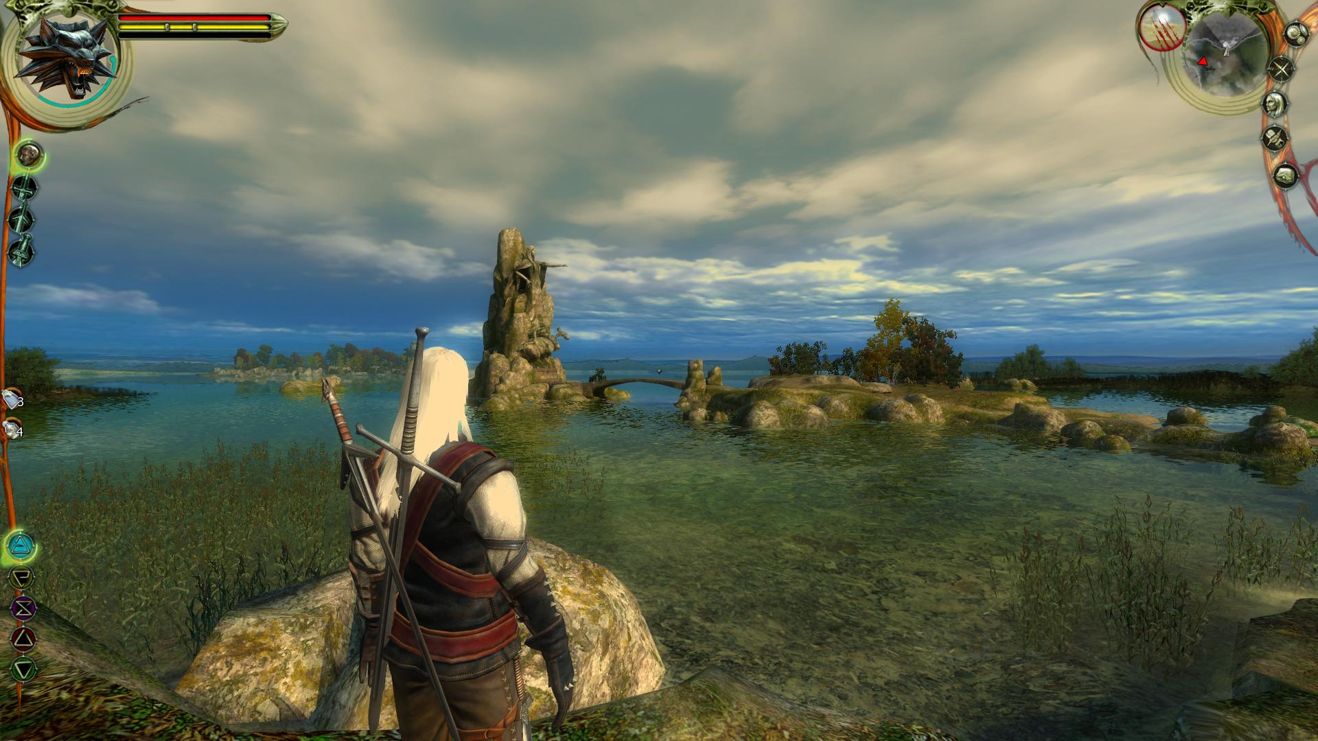 The Original Witcher Prototype Was A Top Down RPG With No
