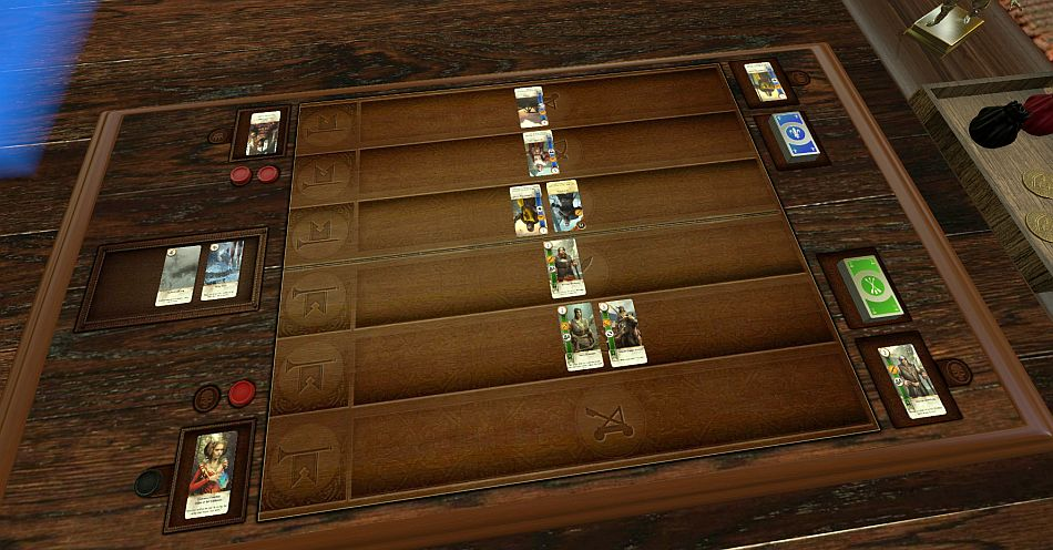 This Mod Recreates The Witcher 3s Gwent Using Tabletop