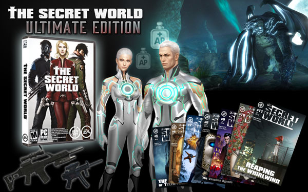 The Secret World Ultimate Edition is the cheapest way to